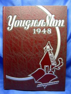 Yough A Mon High School Yearbook McKeesport PA Near Pittsburgh