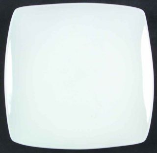 Fitz Floyd Gourmet White Square Salad Plate 6251053