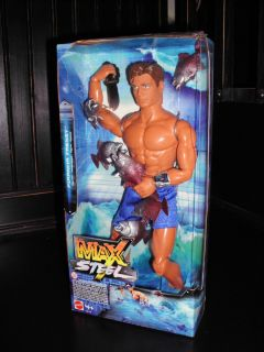 Piranha Frenzy Max Steel Action Figure Mattel 2005 Foriegn Issue