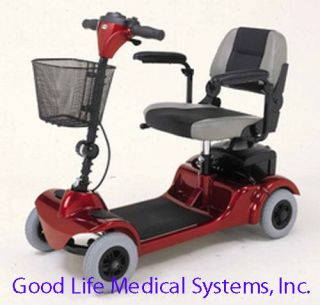 Merits Electric Scooter Medical Power Travel Cart Mini Coupe Transport