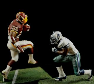 McFarlane NFL Dallas Cowboys Williams vs. Washington Redskins Portis 3