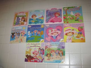 Strawberry Shortcake Lot 10 Books for Kids Snow White Bake Off