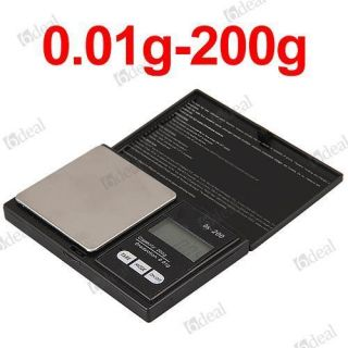 01g LCD Digital Medical Lab Balance Weigh Weight Weighing Scale