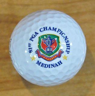 1999 PGA Championship Medinah Logo Golf Ball