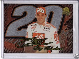 99 Press Pass Stealth Tony Stewart Big Numbers Promo