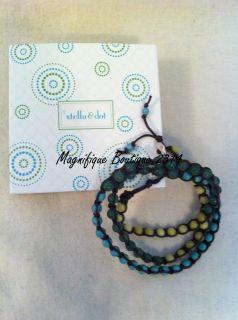 & Dot Costa Azul Wrap Bracelet/Necklace  As Seen On Melissa Rycroft