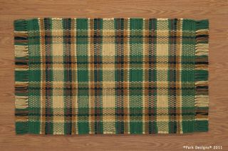 Park Designs Scotch Pine Country Rustic Lodge Decor 24 x 42 Woven