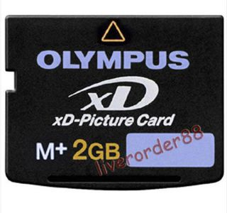 2GB 2G XD MEMORY CARD TYPE M XD PICTURE CARD f OLYMPUS FUJI MJU 15 20