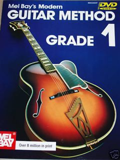 Mel Bays Modern Guitar Method Grade 1 Book and DVD