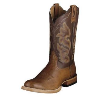 Ariat Barnwood Brown Cyclone 10006827 Riding Boots Mens