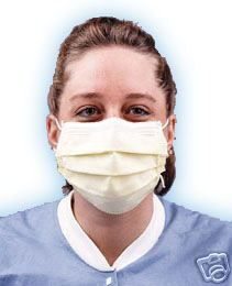 Surgical Face Mask Box 50 Blue Doctor Procedure Medical