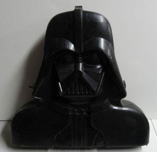 Vinatge Star Wars Darth Vader Action Figure Collectors Case Head Poor