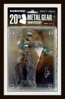 Medicom Metal Gear Solid 20th Anniversary Snake Figure MGS4 New RARE C