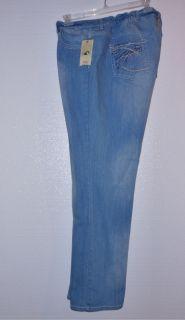 Reba Reba McEntire Embroidered Pocket Stretch Jeans 22W