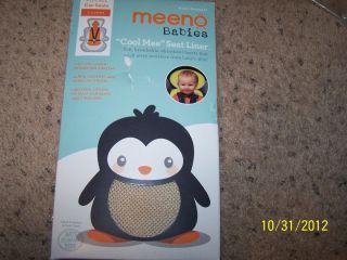 Meeno Babies Cool Mee Car Seat Liner Sand New