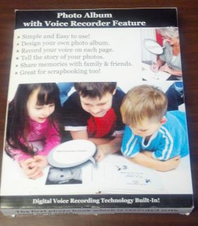 New DIGITAL VOICE RECORDER PHOTO ALBUM create your album add your