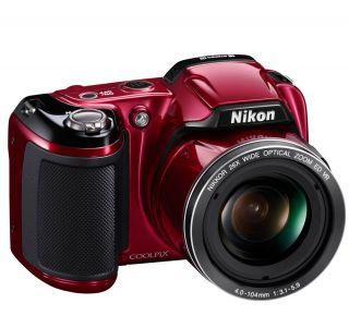 Nikon Coolpix L810 Red 16 Megapixel Digital Camera