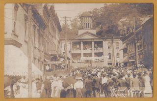 RPPC Pomeroy Ohio OH Meigs County Fair Street Court House Watch Store