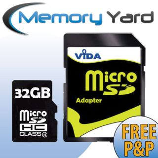 New 32GB Micro SD SDHC Memory Card for ZTE Skate Mobile Phone