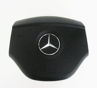 Mercedes Benz Emblem DRIVER Steering Wheel SRS Airbag Cover ML B GL R
