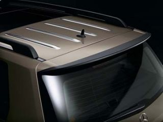 Genuine Mercedes Benz GLK X204 Chrome Roof Strips with Panoramic
