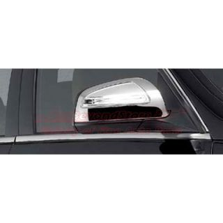 Mercedes Benz 2008 to 2010 C Class Chrome Mirror Covers Genuine Parts