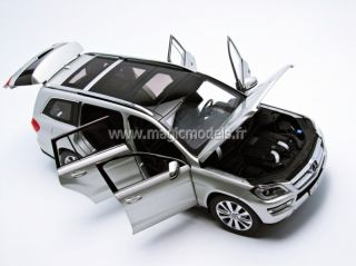 Norev 2012 Mercedes Benz GL Class Silver Dealer Edition 1 18 Scale New