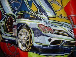 Jeff Hamilton Mammoth Mercedes Benz SLR Italian Lambskin Jacket