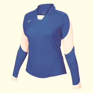 Nike ws Long Sleeve Volleyball Game Jersey Tank Top
