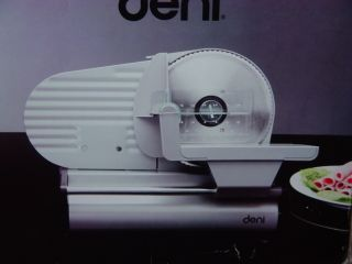 DENI ELECTRIC FOOD SLICER MEAT MACHINE BREAD CHEESE 14170 STAINLESS