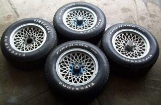 1982 83 84 Pontiac Trans Am Mecham Crosslace Aluminum Wheels RARE L