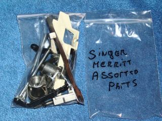 Singer Merritt 1872 Sewing Machine Assorted Parts