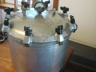 Home Deluxe Pressure Cooker Menomonie Wis Pressure Canner 7QT Works