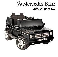 12V Mercedes Benz G55 AMG Ride on Black
