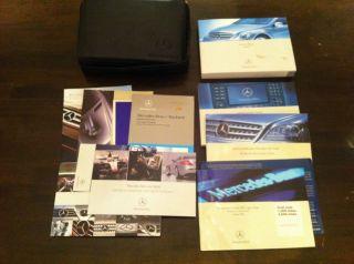 2007 Mercedes Benz R350, R500, R63 Owners manual w/case, OEM, *Free