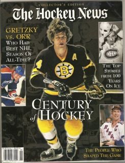 Magazine Collectors Edition Wayne Gretzky Bobby Orr Messier