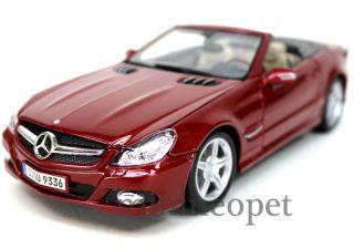 Maisto Mercedes Benz SL550 SL 550 Convertible 1 18 Red