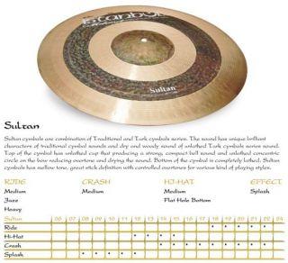 Istanbul Mehmet Sultan Series 20 Ride Cymbal
