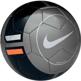 Nike Football Soccer Ball Official Mercurial Fade Size 5 Gray Black