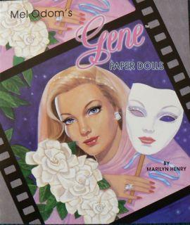 Mel Odoms Gene Marshall Paper Doll Book Marilyn Henry