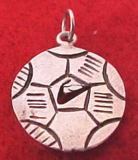 Vintage Sterling Silver Mexico Soccer Ball Charm