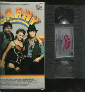 Carny VHS MGM CBS Fox Large Flip Top Box Edition