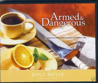 Armed Dangerous 4 CDs Joyce Meyer
