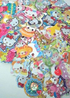 Kawaii Goodie Bag Sticker Flakes Memo Sheets Hello Kitty San x