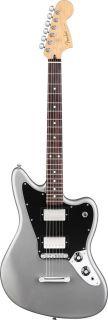 Fender Blacktop Jaguar HH Electric Guitar Silver Finish Store Demo