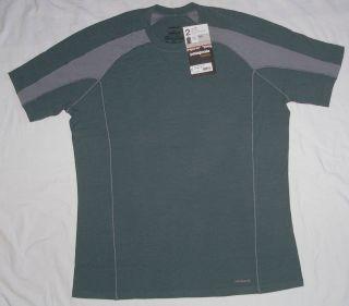 Mens Patagonia T Shirt Merino 2 XXL Lightweight Crew Neck New Shirt