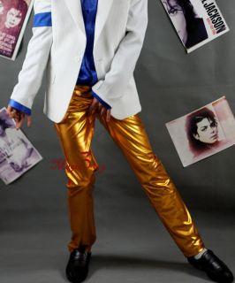 Michael Jackson History Golden Pants MJ Costume Replica MJSPG