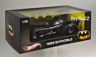 Hot Wheels 1989 Batmobile Batman X5533 Michael Keaton New 2012