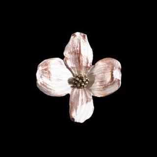 Dogwood Flower Brooch Pin Michael Michaud Jewelry