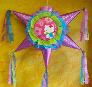 Pinata Hello Kitty B Day Party Mexican Craft for Candy